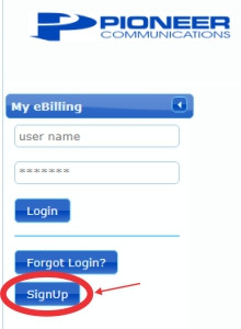Account Sign Up