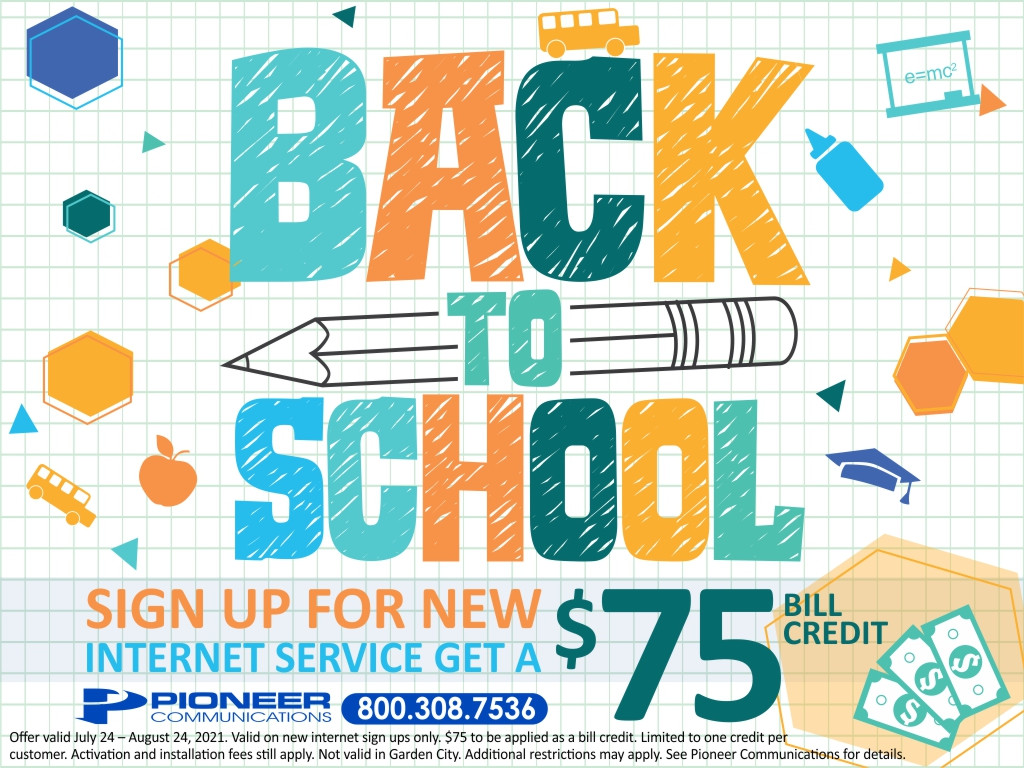 Back To School Promotion - August 2021