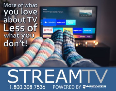 StreamTV Powered by Pioneer Communications