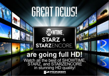 Showtime, Starz, and Encore going HD!