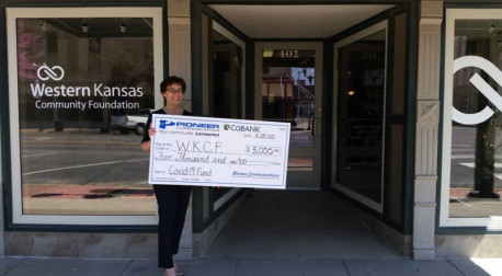 Pioneer Communications and CoBank Foundation Donation